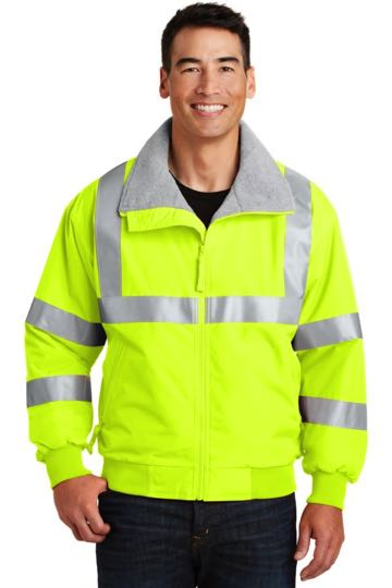 SRJ754 Port Authority® - Safety Challenger™ Jacket with Reflective Taping