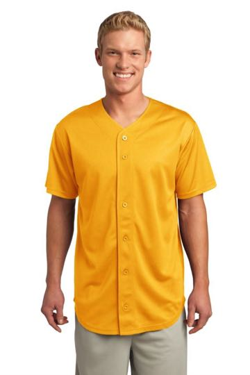ST220 Sport-Tek® - PosiCharge Tough Mesh Full-Button Jersey