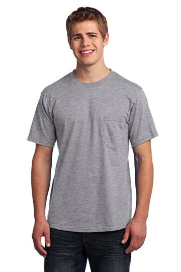 USA100p Port & Company® All-American Tee with Pocket
